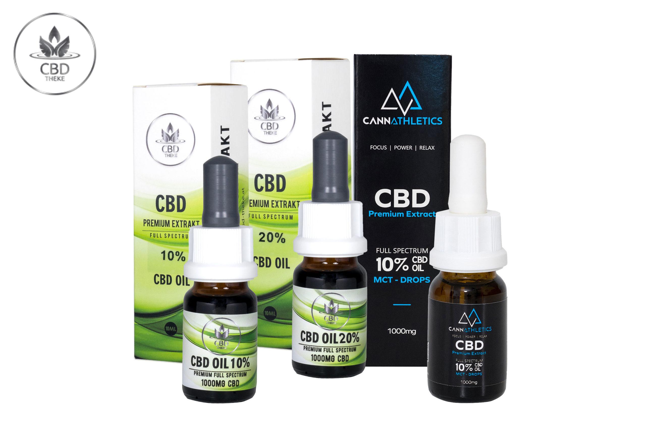 Premium CBD Öle