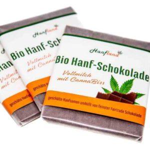 Bio Hanf-Schokolade Vollmilch