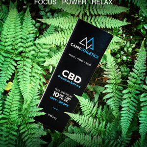 CannAthletics Premium CBD Oil 10% Full Spectrum