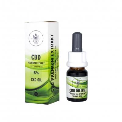 Premium CBD Oil 5% Full Spectrum