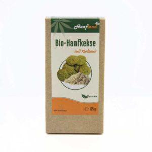 Bio Hanfkekse mit Kurkuma 125 gramm