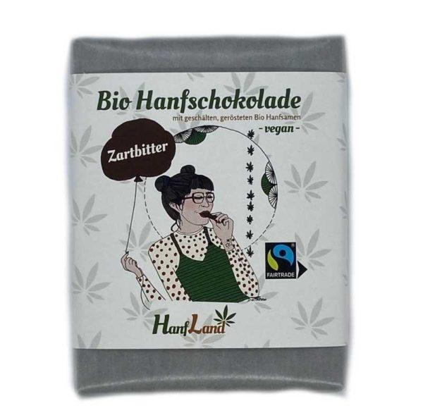 CBD Theke Bio Hanf Schokolade zartbitter