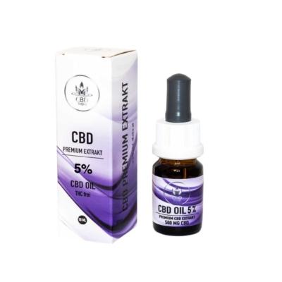 Premium CBD Oil 5% (THC frei)